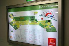 Plány centra
