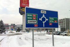 Navigácia - parkovisko IKEA + AVION